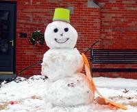 Finally a Snowman!
