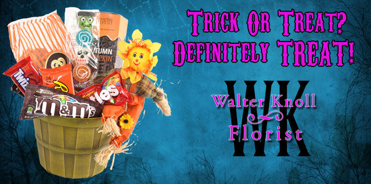Scare up some fun with Halloween flowers and treats from Walter Knoll Florist