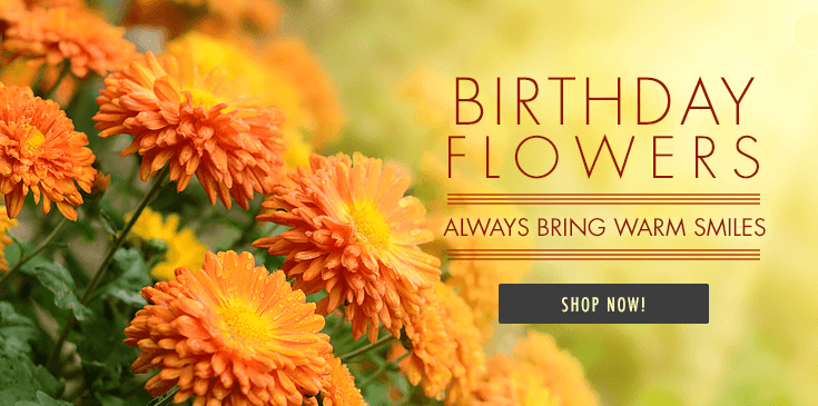 Walter Knoll Florist has the perfect Birthday gift for you.