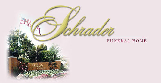 About Sympathy Flowers for Schrader Funeral Home
