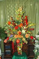 Silk Hallway Bouquet